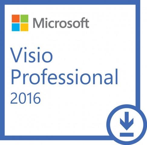 Microsoft Visio Professional 2016 ESD licensz (Letölthető)