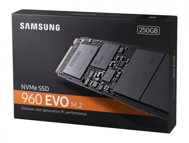 Samsung SSD 960 EVO 250GB M.2 NVMe MZ-V6E250BW