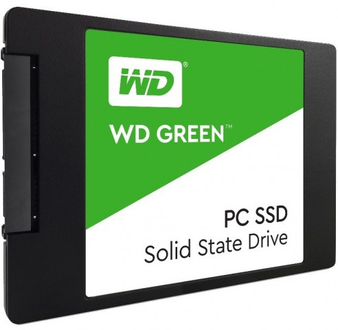 "Western Digital WD Green 120GB SSD SATA3 2.5"" WDS120G1G0A"