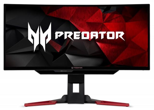 "Acer Predator Z301CTbmiphzx Nvidia G-Sync Monitor 29,5"" Hajlított, Tobii Eye"