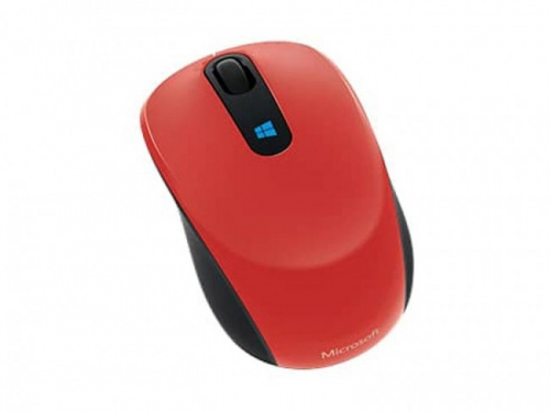 Microsoft Sculpt Mobile Piros