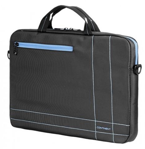 """Continent 15.6"""" Szürke-Kék táska CC-201GB"""