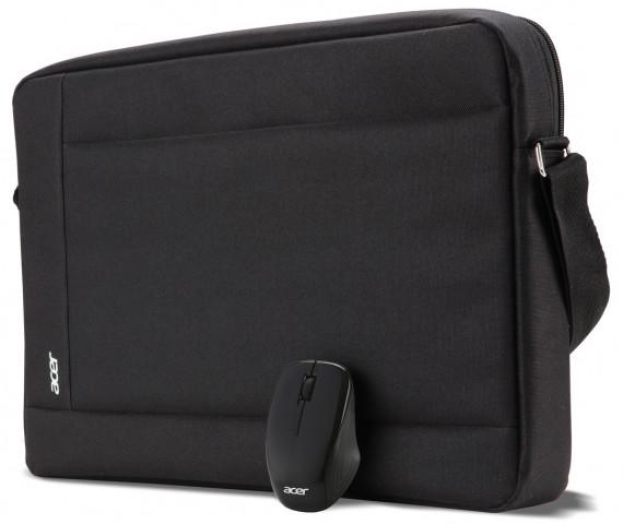 """Acer Notebook Starter Kit 15.6"""" oldaltáska + vezetékes egér"""