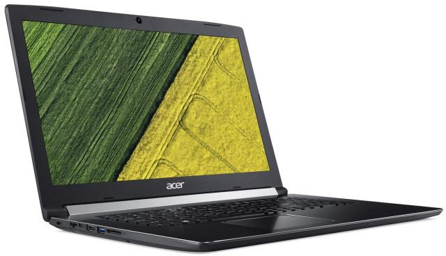 Acer Aspire 5 - A517-51G-34BT hátulról