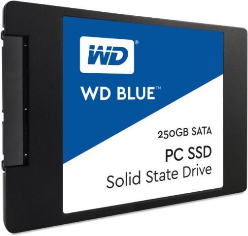 """Western Digital WD Blue 250GB SSD SATA3 2.5"""" WDS250G1B0A"""