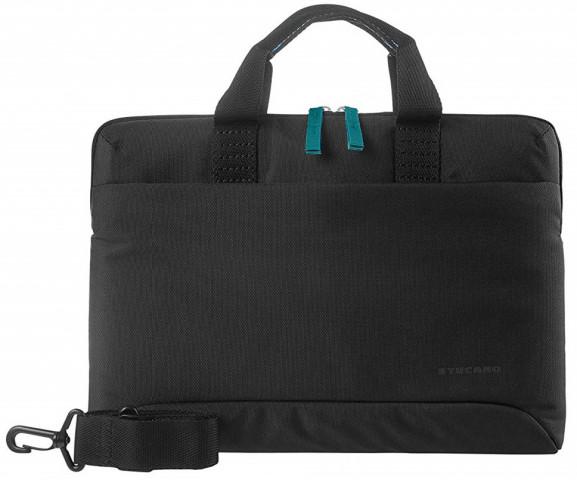 """Tucano Smilza 13""""-14"""" szuper-vékony laptop táska, fekete"""