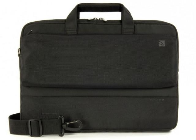 "Tucano Dritta Slim 15,6"" Notebook táska - Fekete"