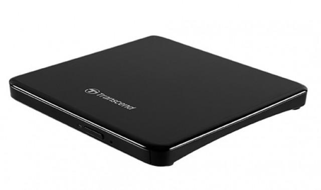 Transcend TS8XDVDS-K Ultra Slim külső USB 8x DVD/CD író-olvasó