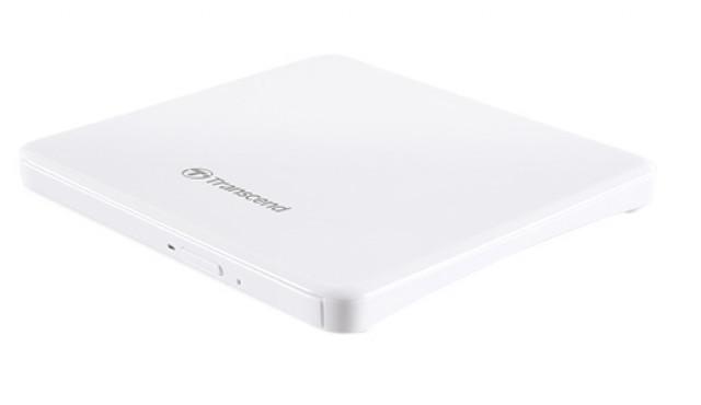 Transcend TS8XDVDS-W Ultra Slim külső USB 8x DVD/CD író-olvasó Fehér