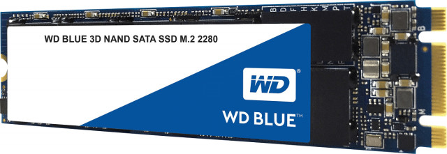 Western Digital 250GB SSD M.2 WD Blue 3D