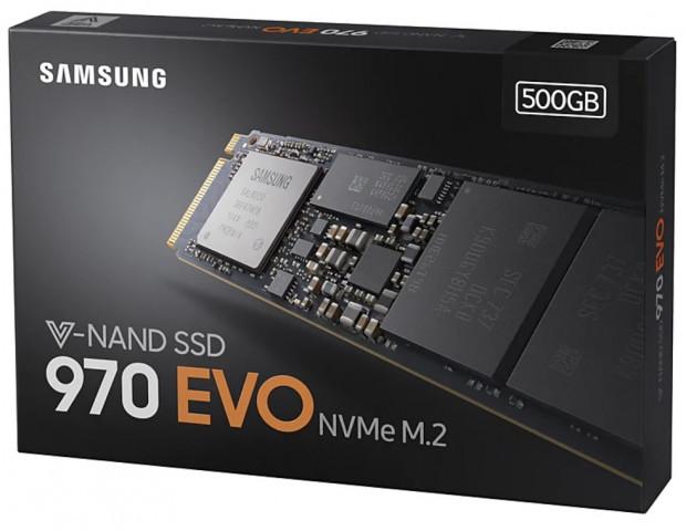 Samsung 500GB SSD PCIe NVMe M.2 970 EVO MZ-V7E500BW