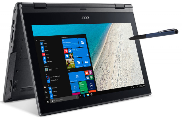 Acer TravelMate Spin B1 - TMB118-G2-RN-P51W