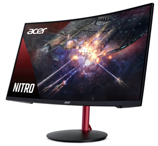 """Acer Nitro XZ272Pbmiiphx FreeSync 27"""" hajlított"""