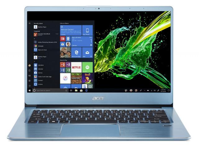 Acer Swift 3 Ultrabook - SF314-41-R02Y_hátulról
