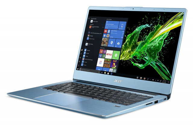 Acer Swift 3 Ultrabook - SF314-41G-R7BL_hátulról