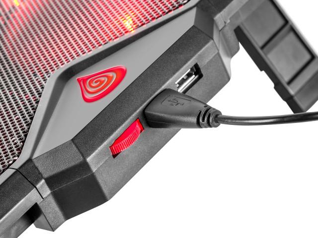 Genesis OXID 250 notebook hűtőpad