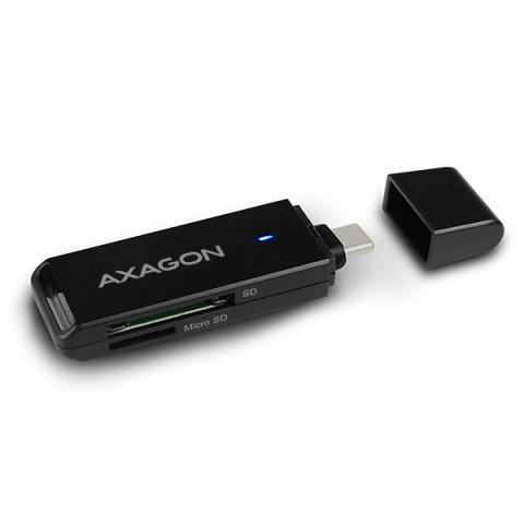 Axagon CRE-S2C USB 3.1 Type-C kártyaolvasó