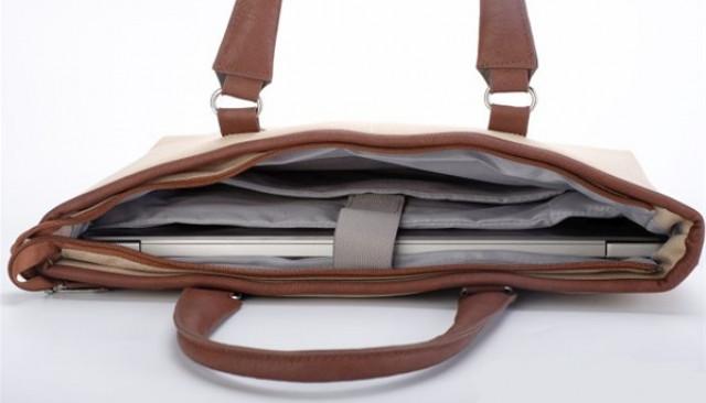 """TOO Női notebook táska - 15,6"""" - Bézs"""