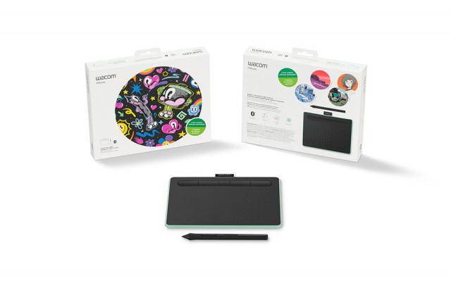 Wacom Intuos M Bluetooth Green North digitális rajztábla