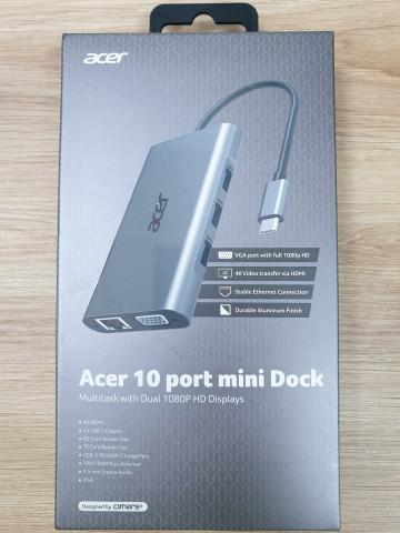 Acer 10 port mini Dock - dokkoló