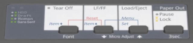 Epson LX-1350 mátrixnyomtató