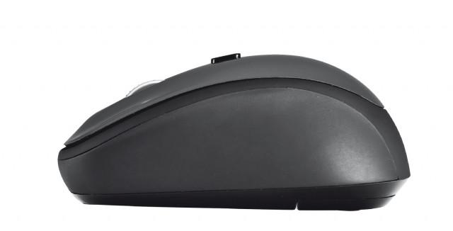 Trust Yvi Wireless Mouse vezeték nélküli fekete egér