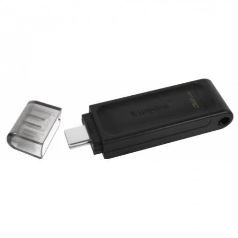 Kingston 32GB USB Type-C (3.2 Gen 1) Fekete Pendrive
