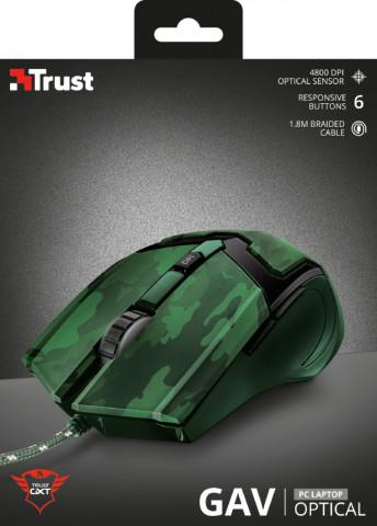 Trust GXT 101C Gav Gaming optikai terepmintás egér