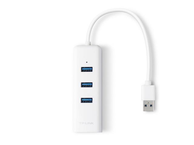 TP-LINK USB HUB gigabites ethernet átalakító