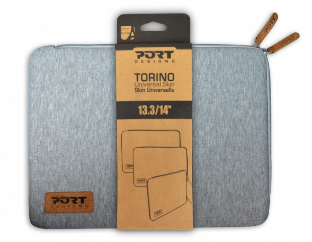 "Port Designs Torino notebook sleeve tok 13,3"" - szürke"