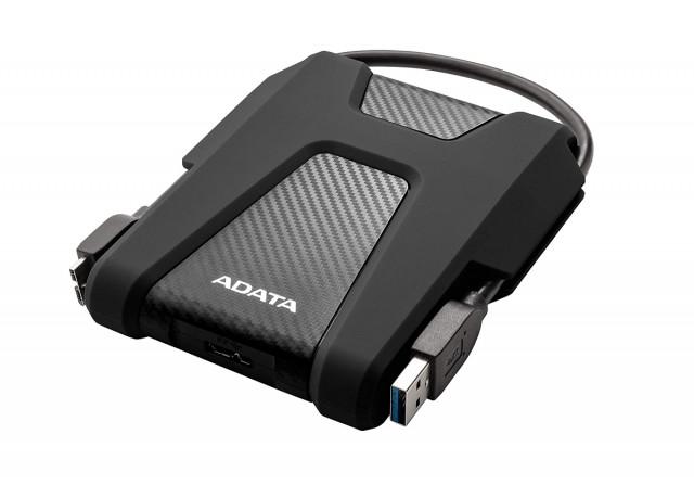 """ADATA AHD680 1TB ütésálló fekete külső winchester 2,5"""""""