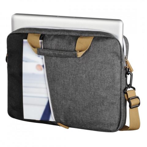 """HAMA Florence 15,6"""" Fekete-szürke notebook táska"""