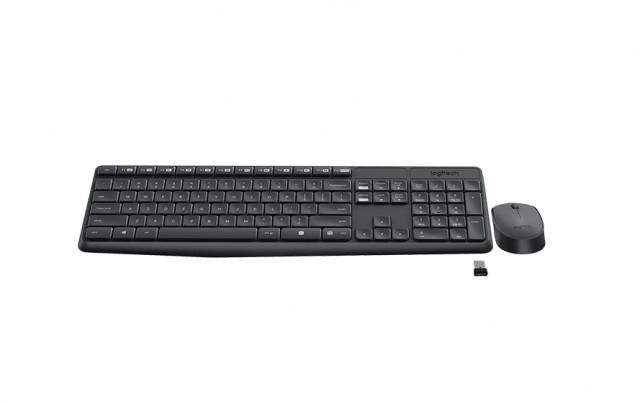Logitech MK235 Wireless Billentyűzet HU + Optikai egér