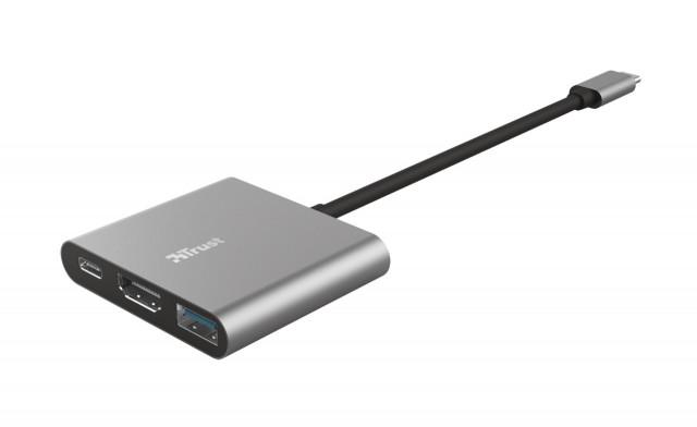 Trust DALYX 3 in 1 USB-C adapter