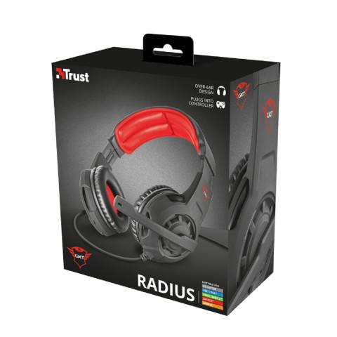 Trust GXT310 Radius Gamer fejhallgató - fekete