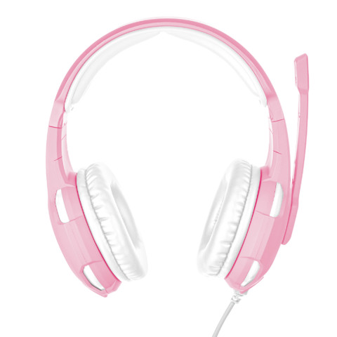 Trust GXT310P Radius Gamer fejhallgató - rózsaszín