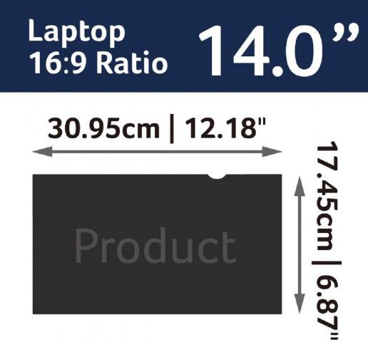 "Acer 2 Way Privacy Filter 14"" fólia"