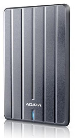 """ADATA AHC660 2,5"""" 1TB USB3.2 titán ezüst külső winchester"""