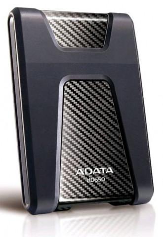 """ADATA HD650 2,5"""" 1TB USB3.2 ütésálló fekete külső winchester"""