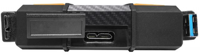 """ADATA HD710P 2,5"""" 2TB USB3.2 ütés és vízálló sárga külső winchester"""