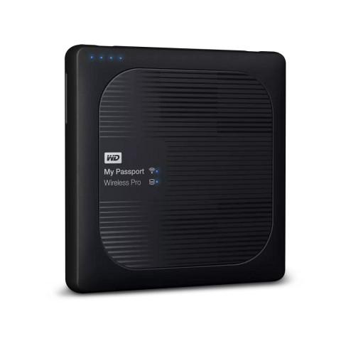 WD My Passport Wireless Pro 1TB USB3.0 - Fekete