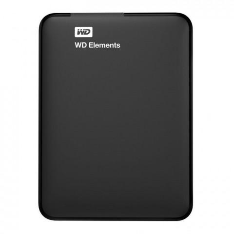 WD Elements 2TB USB 3.0 Fekete külső HDD