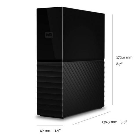 WD My Book 6TB USB3.0 külső merevlemez - Fekete