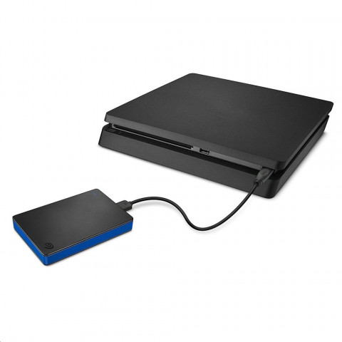 Seagate Game Drive for PS4 4TB USB 3.0 - Fekete