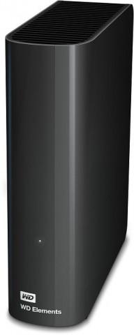 """WD Elements Desktop 3,5"""" 4TB USB3.0 külső merevlemez - Fekete"""