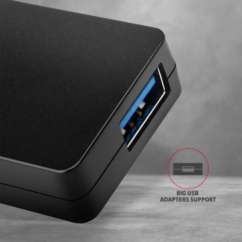 Axagon HUE-G1C SuperSpeed USB-C Slim HUB
