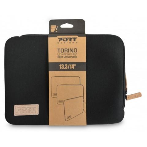 "Port Designs Torino notebook sleeve tok 13,3"" - fekete"
