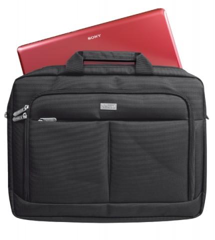 """Trust Sydney Slim 16"""" Fekete notebook táska"""