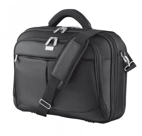 """Trust Sydney fekete 17,3"""" Fekete notebook táska"""