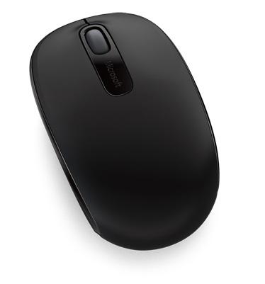 Microsoft Wireless Mobile 1850 Vezeték Nélküli Optikai egér Fekete ... 160a7a79a3